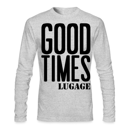 good times lugage - Men's Long Sleeve T-Shirt by Next Level