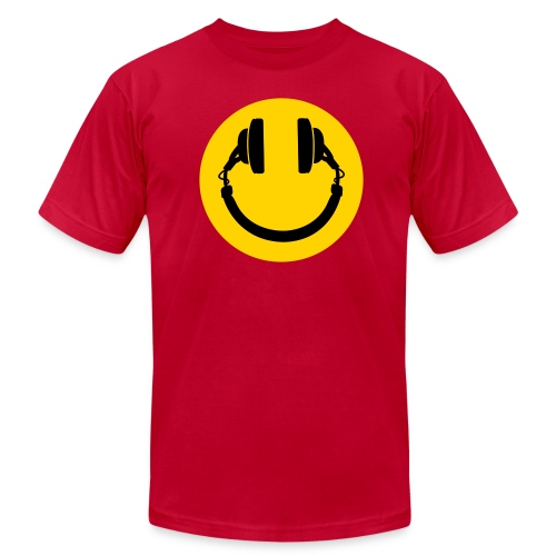 Music makes me smile - Men's Fine Jersey T-Shirt