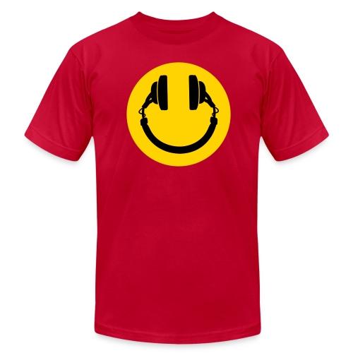 Music makes me smile - Men's  Jersey T-Shirt