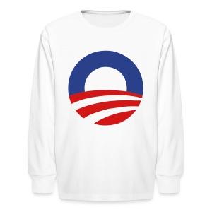 Barack Obama 2012 - stayflyclothing.com  - Kids' Long Sleeve T-Shirt