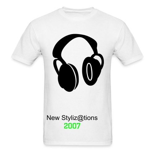 New Styliz@tions 2007 White Tee - Men's T-Shirt