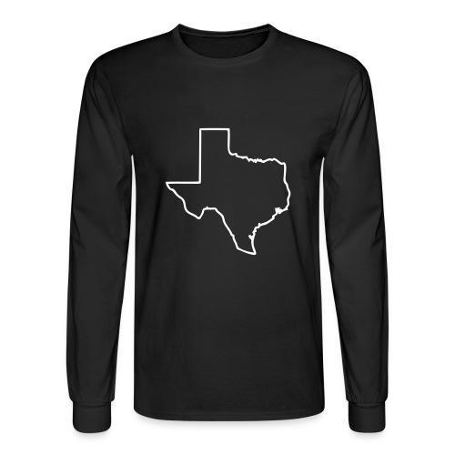 Texas - Men's Long Sleeve T-Shirt