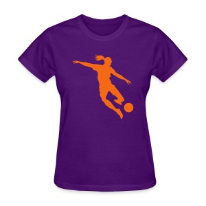 Soccer female Women's T-Shirts - Women's T-Shirt