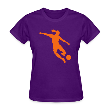 Soccer female Women's T-Shirts