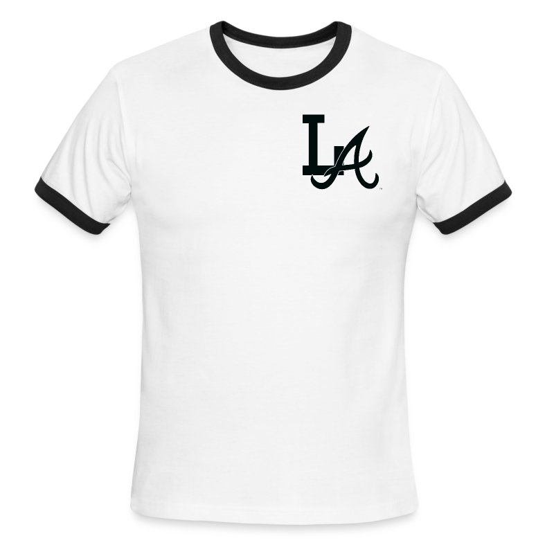 LA Men's Ringer Shirt - Men's Ringer T-Shirt