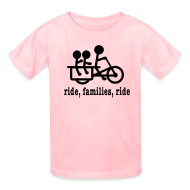 Kids' Shirts ~ Kids' T-Shirt ~ Youth Longtail Ride Families