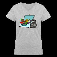 T-Shirts ~ Women's V-Neck T-Shirt ~ Paleo Women's Primal Kitchen V-Neck Tee