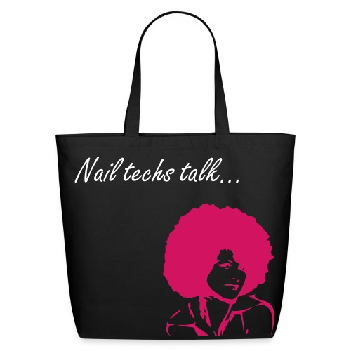 Nail tech Carry all - Eco-Friendly Cotton Tote