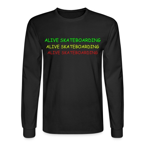 Rasta L/Sleeve - Men's Long Sleeve T-Shirt