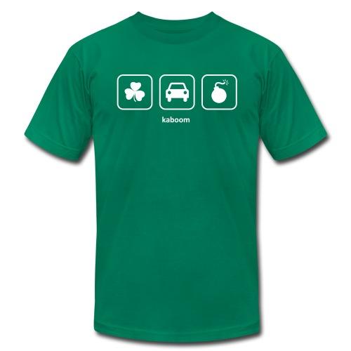 St. Patricks Day - Irish Car Bomb (Green) - Men's Fine Jersey T-Shirt