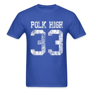 Polk High 33 - Men's T-Shirt