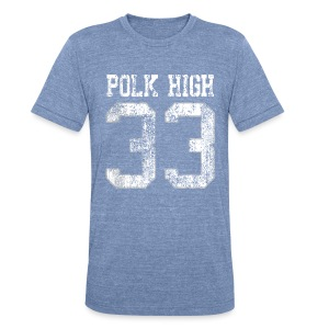 Polk High 33 - Unisex Tri-Blend T-Shirt