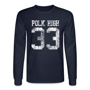 Polk High 33 - Men's Long Sleeve T-Shirt