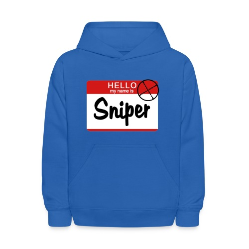 Youth Sweatshirt Hello My Name Is Sniper - Kids' Hoodie
