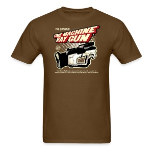 Time Machine Ray Gun Mens T - Men's T-Shirt
