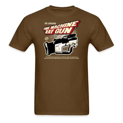 Time Machine Ray Gun Mens T - Men's T-Shirt