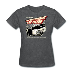 Time Machine Ray Gun Womens T - Women's T-Shirt