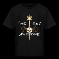 Kids' Shirts ~ Kids' T-Shirt ~ METAL Key of Awesome! Kids