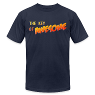 T-Shirts ~ Men's T-Shirt by American Apparel ~ The Key of Awesome Logo Men American Apparel