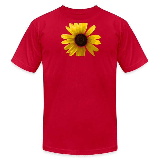 Men's Sunflower T-shirt in Brown
