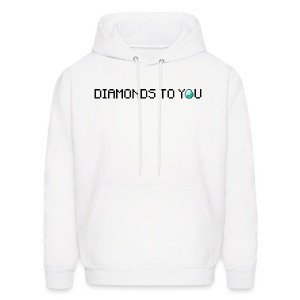 Diamonds To You! Hoodie. The Minecraft Monday Show - Men's Hoodie