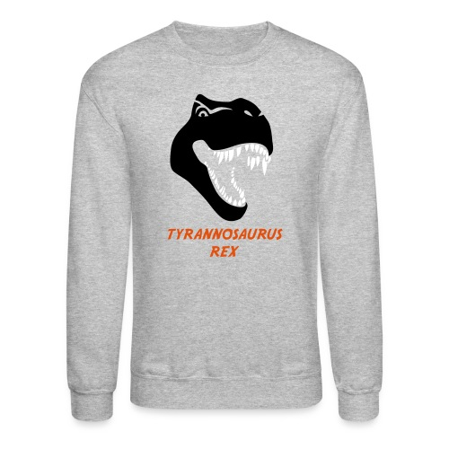 animal t-shirt tyrannosaurus rex t-rex  dino dinosaur jurassic raptor - Crewneck Sweatshirt