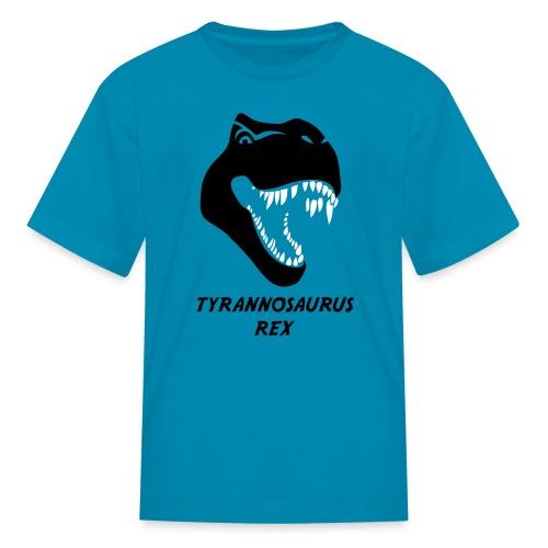 animal t-shirt tyrannosaurus rex t-rex  dino dinosaur jurassic raptor - Kids' T-Shirt