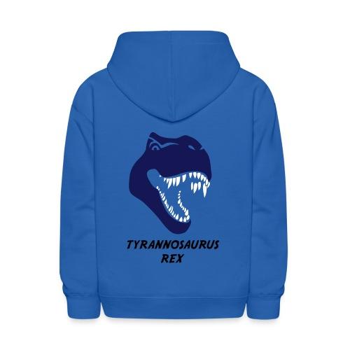 animal t-shirt tyrannosaurus rex t-rex  dino dinosaur jurassic raptor - Kids' Hoodie