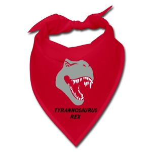 animal t-shirt tyrannosaurus rex t-rex  dino dinosaur jurassic raptor - Bandana