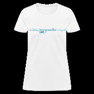 Women's T-Shirts ~ Women's T-Shirt ~ mvyradio martha's vineyard script - version 2
