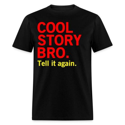 Men Cool Story Bro Shirt - Men's T-Shirt