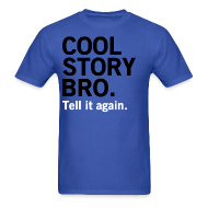 T-Shirts ~ Men's T-Shirt ~ Men Cool Story Bro Shirt