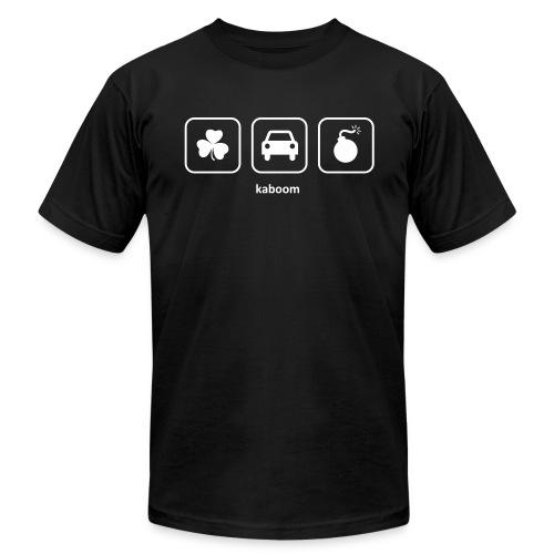 Kaboom - Irish Car Bomb (Black) - Men's Fine Jersey T-Shirt
