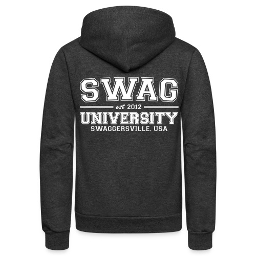 Swag University - Unisex Fleece Zip Hoodie