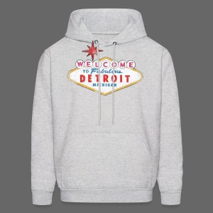 Welcome Fabulous Detroit - Men's Hoodie