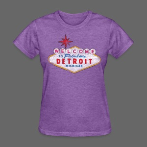 Welcome Fabulous Detroit - Women's T-Shirt