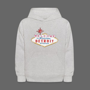 Welcome Fabulous Detroit - Kids' Hoodie