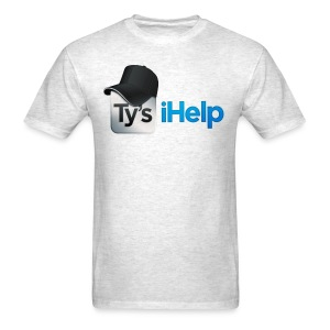 Ty's iHelp  - Men's T-Shirt