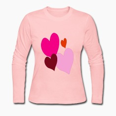 Hearts Valentine Ladies Shirt