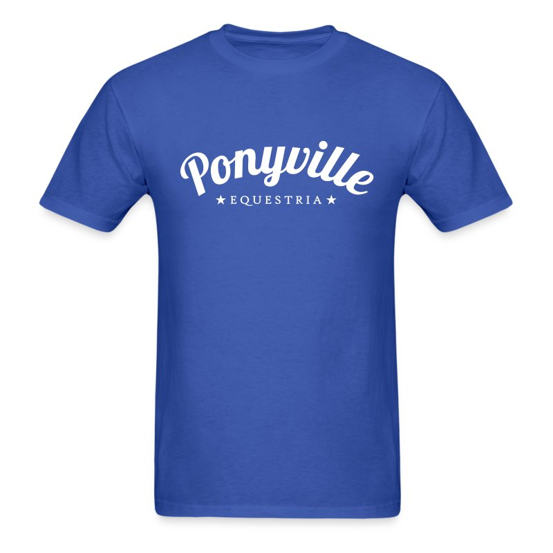 Ponyville - Men's T-Shirt