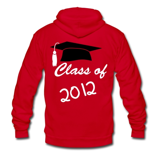 girl's class of 2012 sweatshirt - Unisex Fleece Zip Hoodie