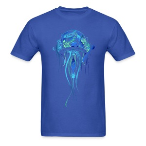 Blue Jellyfish - Men's T-Shirt