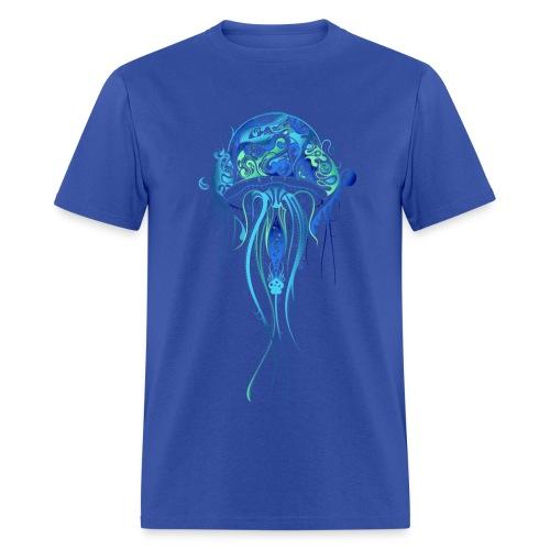 Blue Jellyfish - Men's T-Shirt