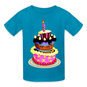 Birthday Cake - Kids' T-Shirt