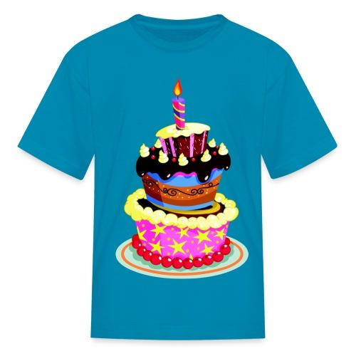 Birthday Cake - Kids' T-Shirt