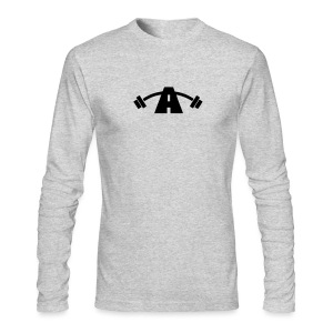 Men's Long Sleeve (Black Logo) - Men's Long Sleeve T-Shirt by Next Level
