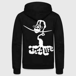 Jet Life Zip Hoodies/Jackets - stayflyclothing.com  - Unisex Fleece Zip Hoodie by American Apparel