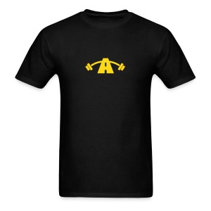 Men's Two-Sided Black & Yellow Shirt - Men's T-Shirt