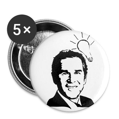 brightest bush? - Large Buttons