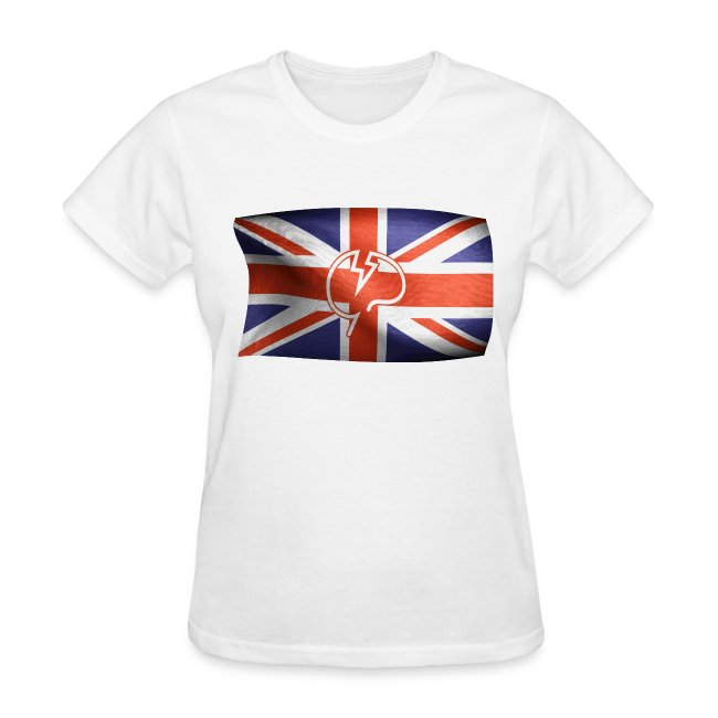 Womens Mindcrack Flying Mindcrack flag T-shirt